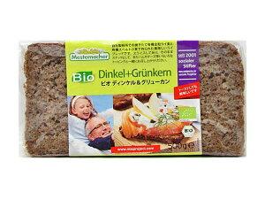 【新商品】メステマッハー 有機ディンケル&グリューンカン【輸入食品】