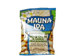 マウナロアマウイオニオン&ガーリックマカデミアナッツSサイズ【輸入食品】