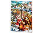 クリスマスクリスマスビレッジアドベントカレンダー日めくりカレンダーAチョコレート入りサンタと動物【輸入食品】