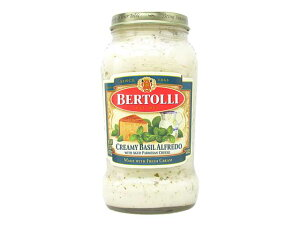 【新商品】ベルトリー パスタソース クリーミーバジルアルフレッド【春食材】【輸入食品】