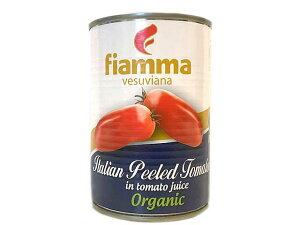 フィアマ 有機ホール トマト 缶入り 400g トマト ホール【輸入食品】