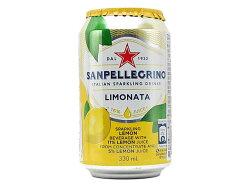 サンペレグリノイタリアンスパークリングドリンクリモナータ(レモン)【輸入食品】