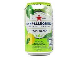 サンペレグリノイタリアンスパークリングドリンクポンペルモ(グレープフルーツ)【輸入食品】