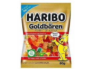 ハリボー HARIBO ゴールドベア 80g【輸入食品】