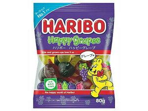 ハリボー HARIBO ハッピーグレープ 80g【輸入食品】