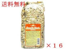 送料無料カントリーファーム フルーツナッツミューズリー 750g1ケース(16袋入り)【朝食】【輸入食品】