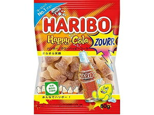 【新商品】ハリボー HARIBO サワーハッピーコーラ 80g【輸入食品】