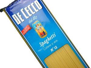 ディチェコ スパゲッティー NO.12【輸入食品】