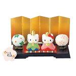 【新商品】雛祭りHelloKittyハローキティ(キティちゃん)ミニひな祭りセット小さいひな人形雛人形ひな祭り【食器】