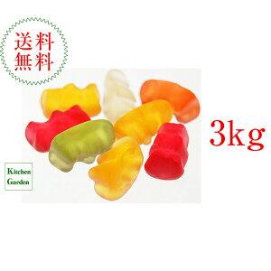 送料無料ハリボー HARIBO ゴールドベア 業務用サイズ 3kg【輸入食品】