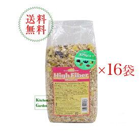 送料無料カントリーファーム ハイファイバーミューズリー 750g1ケース(16袋入り)【朝食】【輸入食品】