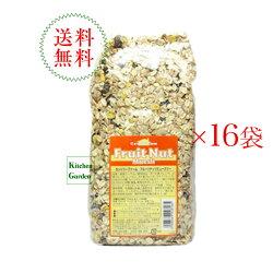 送料無料カントリーファームフルーツナッツミューズリー750g1ケース(16袋入り)【朝食】【輸入食品】