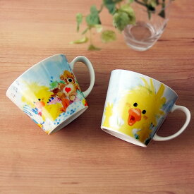 マグカップ 大 スージー ズー 選べる2柄 てんとう虫 or タンポポ 大きなマグカップ 410cc コーヒーカップ/紅茶碗/マグ/ラーメンカップ/スープカップ/キャラクター/かわいい/可愛い