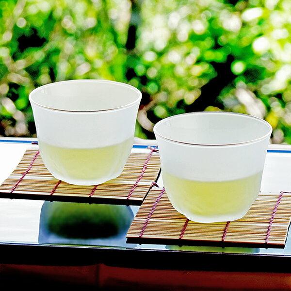 和食器 グラス セット 5個組 アデリア 美風冷茶セット 当店オリジナル すだれ竹コースター付き 冷茶用 ガラス食器 【あす楽】ギフト