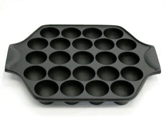 Nanbu ironware rock casting takoyaki takoyaki / 23 holes (for electromagnetic) Southern iron / cast iron / ware / Octopus takoyaki Pan plate fs3gm