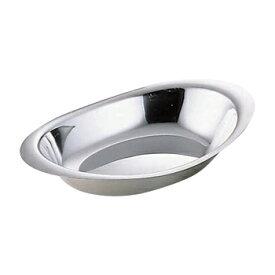 【10/25は全品ポイント5倍】18-8 カレー皿 小(横幅275mm) カレー皿 ステンレス カレー皿 楕円