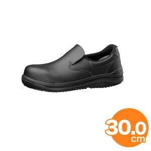 ハイグリップ耐滑安全靴NHS600 30cm 黒 コックシューズ 厨房用シューズ