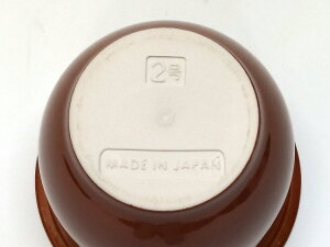 日本製漬物容器常滑焼かめ蓋付2号3.6L