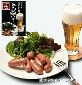 うま辛ソーセージ(レトルト) 60g 飛騨豚100% ビールのおつまみ 唐辛子の辛み