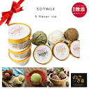NOGI 豆乳 アイスクリーム 3種類6個セット(さし草アイス2個、プレーンアイス2個、チョコアイス2個) 添加物不使用、白砂糖不使用。植物…