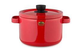 ホーロー鍋 深型鍋 『ソリッド(Solid) 22cmディープキャセロール』 富士ホーロー ガスおよびIH対応品