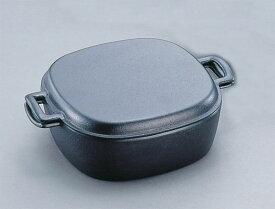 【送料無料】 南部鉄器鉄鍋 『両手万能鍋』 岩鋳 日本製 【IH対応 100V・200V】  21080