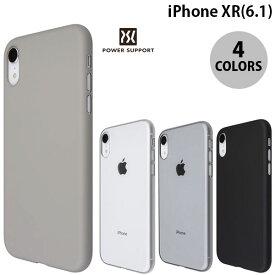 【マラソンクーポン有り】 [ネコポス発送] PowerSupport iPhone XR Air Jacket エアージャケット パワーサポート (iPhoneXR スマホケース) [PSR]