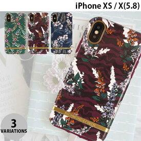 【マラソンクーポン有り】 [ネコポス送料無料] Richmond & Finch iPhone XS / X FREEDOM CASE フローラル リッチモンド&フィンチ (iPhoneXS / iPhoneX スマホケース) [PSR]