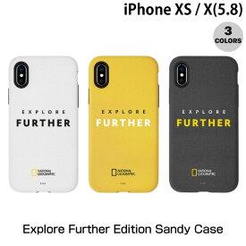 【マラソンクーポン有り】 [ネコポス送料無料] National Geographic iPhone XS / X Explore Further Edition Sandy Case ナショナル ジオグラフィック (iPhoneXS / iPhoneX スマホケース) [PSR]