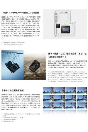 SONY RX0 II (DSC-RX0M2) 4K対応 デジタルスチルカメラ Cyber-shot 防水 ブラック # DSC-RX0M2  ソニー  (Apple製品関連アクセサリ) サイバーショット 自撮り [PSR]