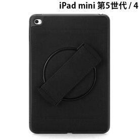 【マラソンクーポン有り】 Griffin Technology iPad mini 第5世代 / 4 Griffin Airstrap 360度回転 スタンド機能付き Black # GIPD-006-BLK グリフィンテクノロジー (タブレットカバー・ケース) [PSR]