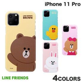 [ネコポス発送] LINE FRIENDS iPhone 11 Pro SLIM FIT BASIC ラインフレンズ (iPhone11Pro スマホケース) [PSR]