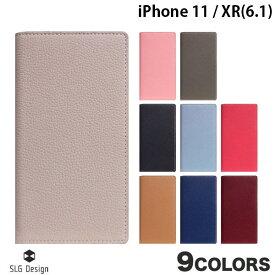 【マラソンクーポン有り】 SLG Design iPhone 11 / XR Full Grain Leather Case 本革 手帳型ケース エスエルジー デザイン (iPhone 11 / XR スマホケース) [PSR]