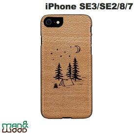 【マラソンクーポン有り】 [ネコポス発送] Man & Wood iPhone SE 第2世代 / 8 / 7 天然木ケース camp # I18911i9 マンアンドウッド (iPhoneSE 第2世代 / 8 / 7 スマホケース) [PSR]