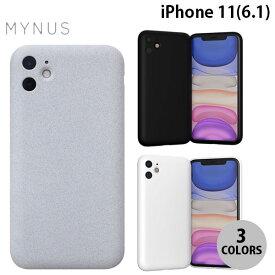 [ネコポス送料無料] MYNUS iPhone 11 CASE ミニマルデザイン エラストマーケース マイナス (iPhone11 スマホケース) [PSR]