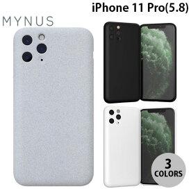 [ネコポス送料無料] MYNUS iPhone 11 Pro CASE ミニマルデザイン エラストマーケース マイナス (iPhone11Pro スマホケース) [PSR]
