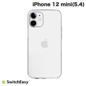 【マラソンクーポン有り】 [ネコポス発送] SwitchEasy iPhone 12 mini CRUSH トランスパレントクリア # SE_ILSCSPTCS_TR スイッチイージー (iPhone12mini スマホケース) [PSR]