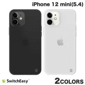 【マラソンクーポン有り】 [ネコポス発送] SwitchEasy iPhone 12 mini 0.35 極薄 クリアケース スイッチイージー (iPhone12mini スマホケース) [PSR]