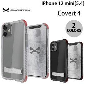 [ネコポス発送] GHOSTEK iPhone 12 mini Covert 4 シンプルなクリアタフケース ゴーステック (iPhone12mini スマホケース) [PSR]
