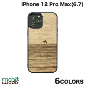 【マラソンクーポン有り】 [ネコポス発送] Man & Wood iPhone 12 Pro Max 天然木ケース マンアンドウッド (iPhone12ProMax スマホケース) [PSR]
