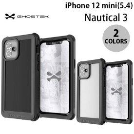 [ネコポス送料無料] GHOSTEK iPhone 12 mini Nautical 3 IP68防水防塵タフネスケース ゴーステック (iPhone12mini スマホケース) [PSR]