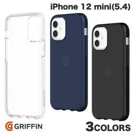 【マラソンクーポン有り】 [ネコポス発送] Griffin Technology iPhone 12 mini Survivor Clear 耐衝撃ケース グリフィンテクノロジー (iPhone12mini スマホケース) [PSR]