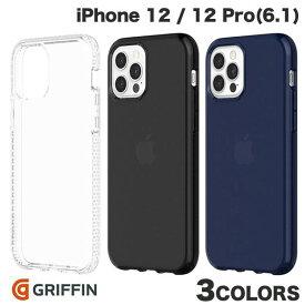 【マラソンクーポン有り】 [ネコポス発送] Griffin Technology iPhone 12 / 12 Pro Survivor Clear 耐衝撃ケース グリフィンテクノロジー (iPhone12 / 12Pro スマホケース) [PSR]