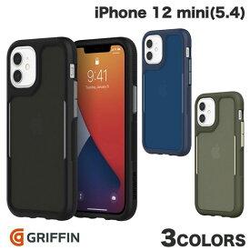 【マラソンクーポン有り】 [ネコポス送料無料] Griffin Technology iPhone 12 mini Survivor Endurance 耐衝撃ケース グリフィンテクノロジー (iPhone12mini スマホケース) [PSR]