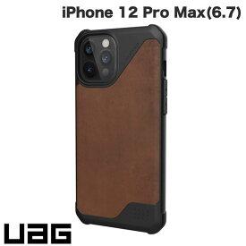 [ネコポス送料無料] UAG iPhone 12 Pro Max METROPOLIS LT 耐衝撃ケース レザーブラウン # UAG-IPH20LFL-LBR ユーエージー (iPhone12ProMax スマホケース) [PSR]