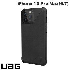 【マラソンクーポン有り】 [ネコポス送料無料] UAG iPhone 12 Pro Max METROPOLIS LT 耐衝撃ケース レザーブラック # UAG-IPH20LFL-LBK ユーエージー (iPhone12ProMax スマホケース) [PSR]
