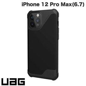 【マラソンクーポン有り】 [ネコポス送料無料] UAG iPhone 12 Pro Max METROPOLIS LT 耐衝撃ケース PUブラック # UAG-IPH20LFL-BK ユーエージー (iPhone12ProMax スマホケース) [PSR]