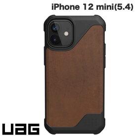 [ネコポス送料無料] UAG iPhone 12 mini METROPOLIS LT 耐衝撃ケース レザーブラウン # UAG-IPH20SFL-LBR ユーエージー (iPhone12mini スマホケース) [PSR]