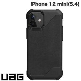 [ネコポス送料無料] UAG iPhone 12 mini METROPOLIS LT 耐衝撃ケース レザーブラック # UAG-IPH20SFL-LBK ユーエージー (iPhone12mini スマホケース) [PSR]