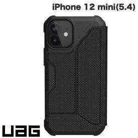 [ネコポス送料無料] UAG iPhone 12 mini METROPOLIS 耐衝撃 フォリオケース ケブラーブラック # UAG-IPH20SF-KB ユーエージー (iPhone12mini スマホケース) [PSR]
